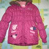 Куртка Tu размер 5-6 лет. Рост 110-116 см.