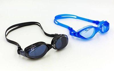 Очки для плавания Arena 92373 Fluid поликарбонат, TPR, силикон, 2 цвета
