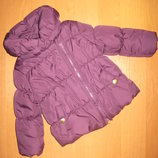 Куртка F&F размер 6-9 мес. Рост 74 см.