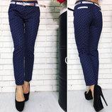 Женские летние стильные брюки 375 Коттон Якоря .