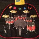 Коврик барабанная установка