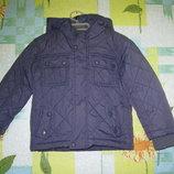 Куртка Tu размер 2-3 года. Рост 92-98 см.