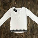 Блуза школьная для девочки Агата