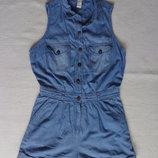 Ромпер джинсовый, размер М
