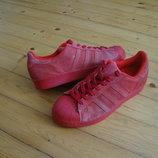 Кроссовки Adidas Superstar натур замша оригинал 42-43 разм