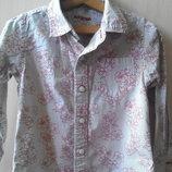 Рубашка на мальчика MARKS&SPENCER, на 3-4 года