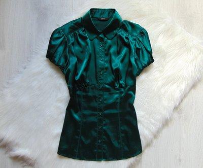 c662d32a86b Шикарная атласная блуза для девушки. M S. Размер 8 или S-M. Состояние  идеальное