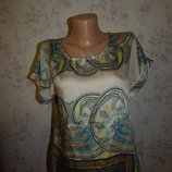 блузка атласная стильная модная р12