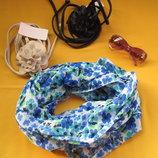 Новый красивенный яркий снуд,хомут,шарф,Сток,HEMA