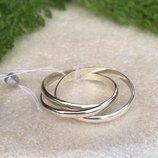 Кольцо серебряное Вера Надежда Любовь