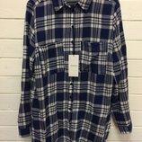 длинная рубашка хлопок бренд Reserved оригинал р 38