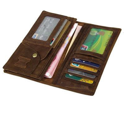 Вертикальное кожаное портмоне 8013-1R мужской кошелек натуральная кожа