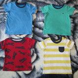 Пакет футболки, футболка,футболок на 0-3мес, 3-6мес, 6-9мес, 9-12мес