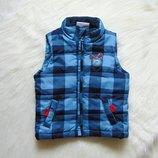 Яркая стильная жилетка для мальчика. DopoDopo. Размер 9-12 месяцев, будет дольше. Состояние новой