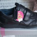 Туфли для мальчика, новые, черные, размеры 35,36
