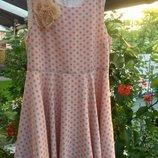 Marks&Spencer нарядное стильное платье р.146 см или 11 лет