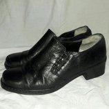 Туфли кожаные Gabor 37-38 размер по стельке 24см
