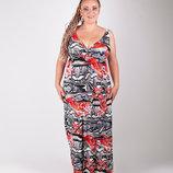Распродажа Модные сарафаны Большой размер 3 расцветки