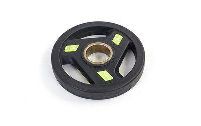 Блины полиуретановые диски полиуретановые с хватом и металлической втулкой 5344-2,5 вес 2,5кг