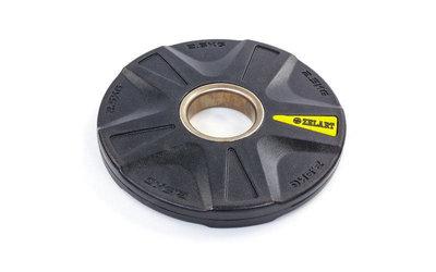 Блины полиуретановые диски полиуретановые с металлической втулкой 5335-2,5 вес 2,5кг, 5 отверстий