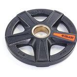 Блины полиуретановые диски полиуретановые с металлической втулкой 5335-5 вес 5кг, 5 отверстий