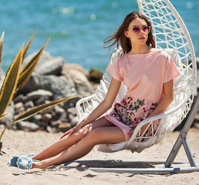 Летнее короткое женское платье 1112 Лён Вышивка Купон Мини в расцветках.  Previous Next. Летнее короткое женское платье 1112 Лён Вышивка ... 0e26722c960f1