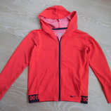 спортивная кофта 10-12 л рр S Nike Найк девочке детская красная фирменная