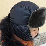 Зимняя шапка ушанка для мальчика