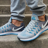 Кроссовки летние Nike Zoom Pegasus 33 GreyBlue