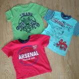 Фирменные футболки футболка р 104-110 см