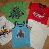 Фирменные футболки футболка майка р 104-110 см