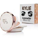 Пудра двойная Kylie Kypowder Makeup Two, двух цветная пудра Кайли