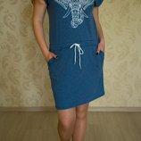 Женское платье, 100 % хлопок, в наличии,40р.,42р, 46р, 48р., 50р.., полномернные