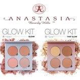 Хайлайтеры Anastasia Beverly Hills Glow Kit That Glow 4 оттенка, хайлайтер, набор хайлатеров