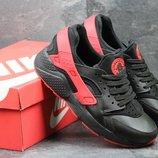Кроссовки мужские Nike Huarache Black red