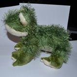 новая игрушка лягушка жаба коллекционная ganz оригинал высота 24 см