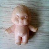 Кукла, пупс, Ссср, 5 см, кьюпи.