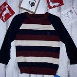Оочень стильный свитерок Rebel хлопок Сток 98 см