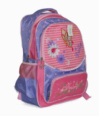 Школьный рюкзак для девочки сиреневый