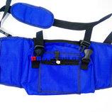 Сумка Чехол для Пенни борда Penny board 22 Blue 58 см с карманом и мягкой спинкой, синий цвет Киев