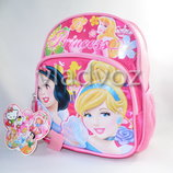 Детский рюкзак принцессы розовый для девочек 1816