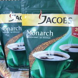 Растворимый кофе Jacobs Monarh 400гр Укр почта 15гр