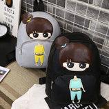 Милый городской рюкзак с девочкой В Наличии