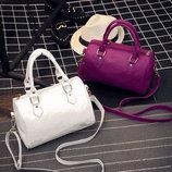 Классическая женская сумка-бочонок В Наличии