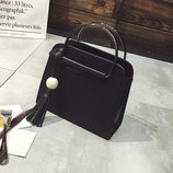 Каркасная сумочка с металлическими ручками В Наличии