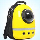 Каркасный рюкзак с иллюминатором для путешествий с котом В Наличии