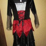 Женское карнавальное платье George 8-10р 36-38р колдунья ведьма на Хеллоуин