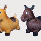 Прыгун резиновый лошадь в шкурке bt-rj-0012 w02-3123-1 1350г 2цвета