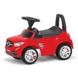 Машинка каталка толокар красная свет звук 2-002 Master Play укр автомобиль для прогулок