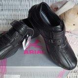 Туфли для мальчика, новые, черные, размеры 36, 38